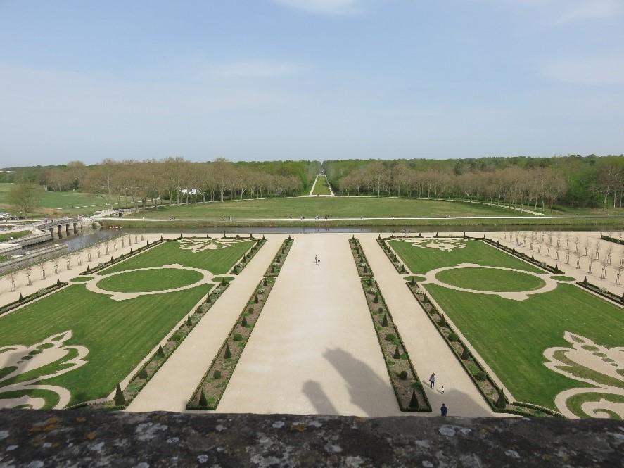 les nouveaux jardins à la française de Chambord