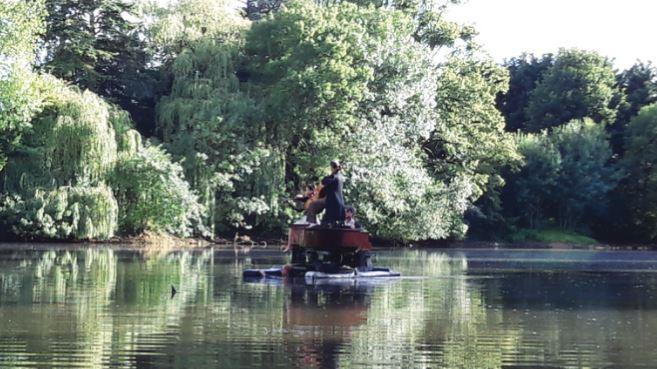 L'étang de la Cour des Aulnays