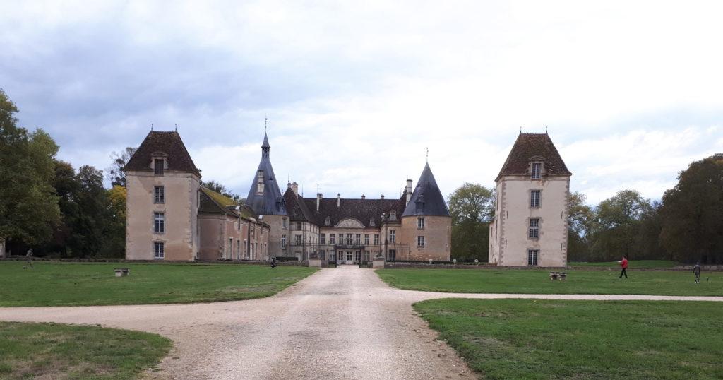 le château de Commarin