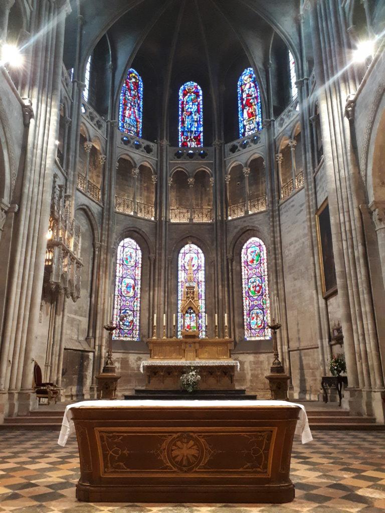 La cathédrale St-vincent