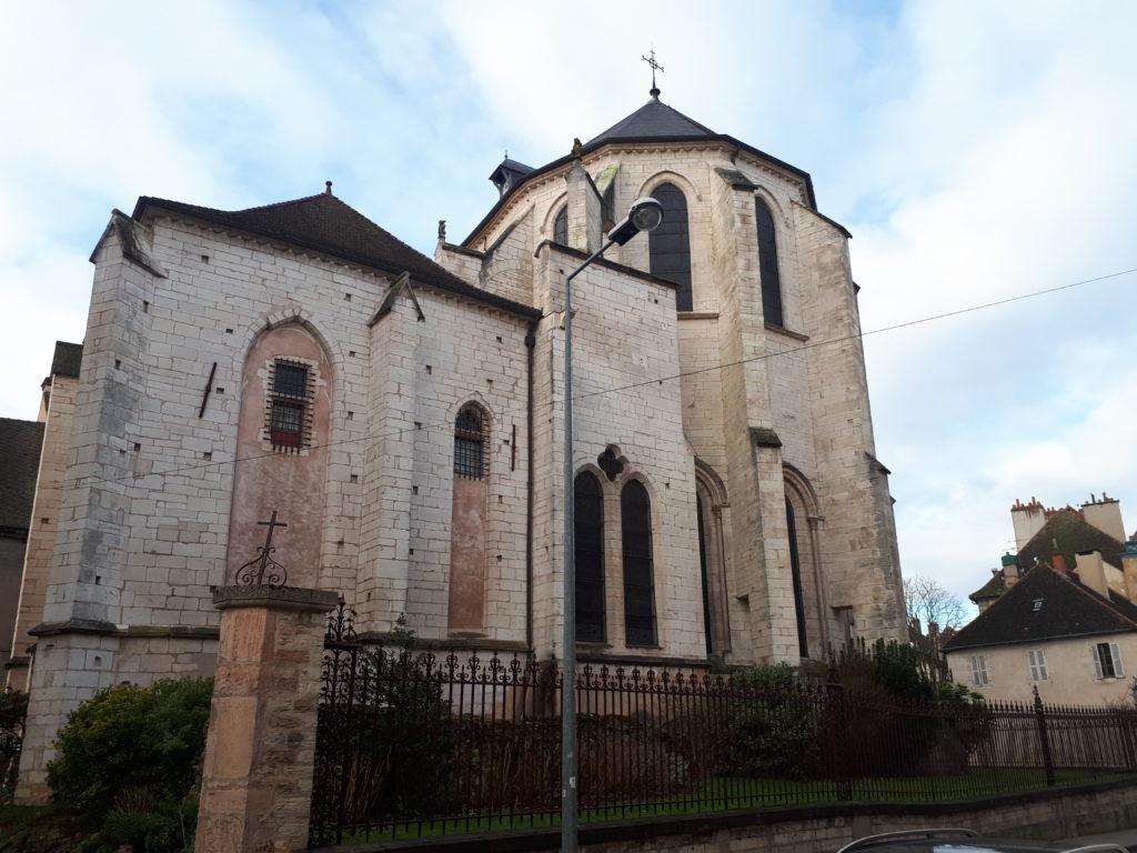 La cathédrale St-Vincent (arrière)