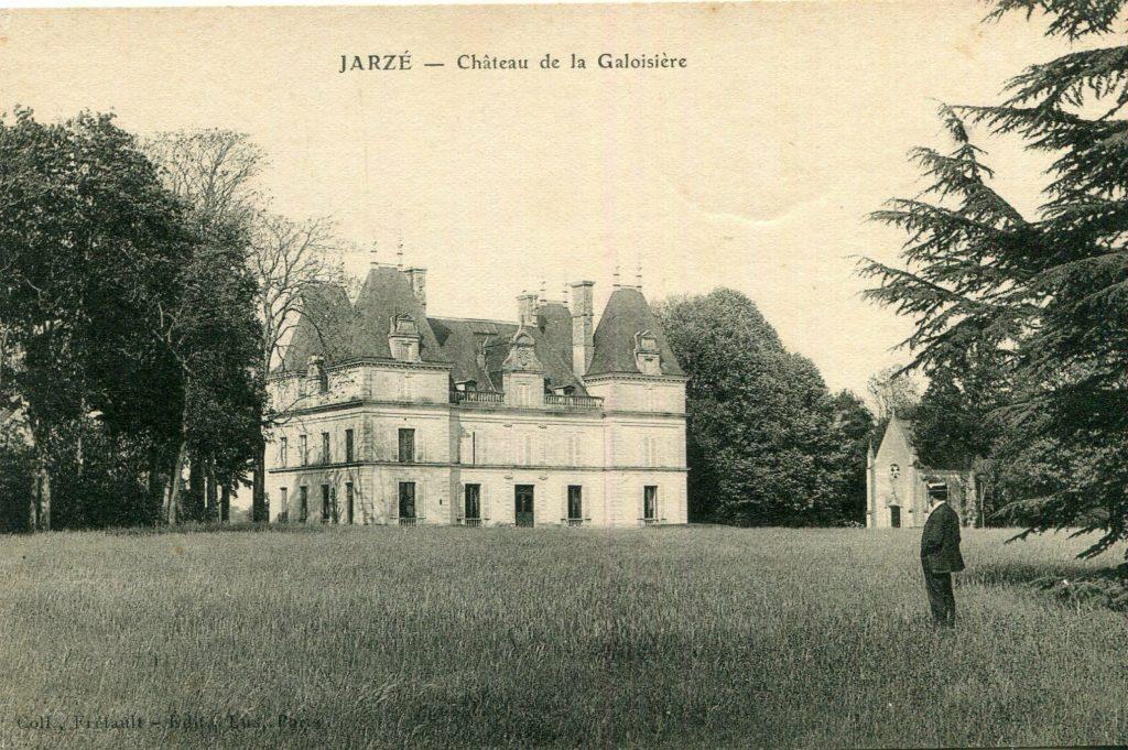 le château de la Galoisière- ancienne photo