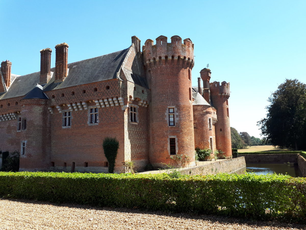 Le château de Villebon