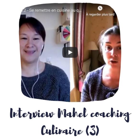 mahel coaching culinaire