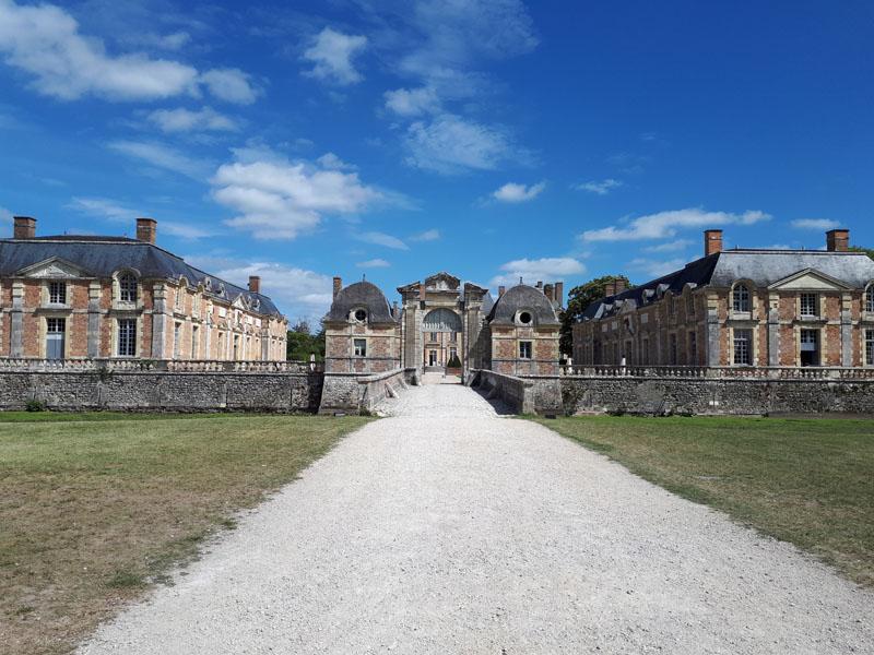 le château de la ferté saint Aubin